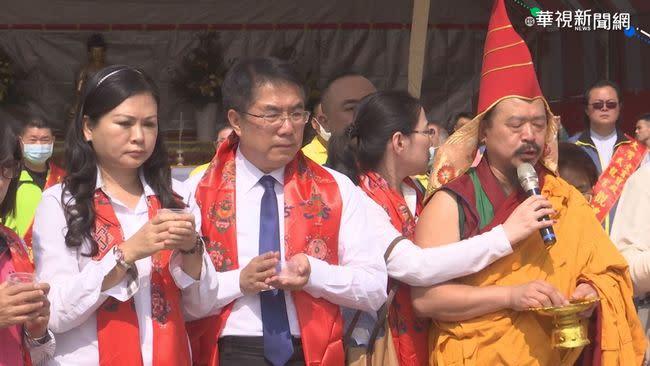 台南祈福法會 不鼓勵公務員赴中日韓
