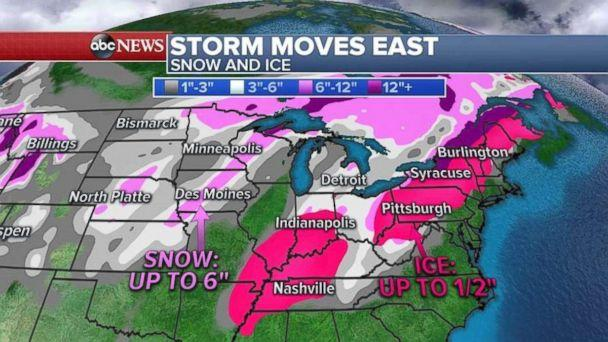 PHOTO: A snow could bring up to a foot snow to parts New England. (ABC News )