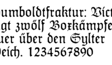 【Yahoo論壇/蔡慶樺】德國「尖角字體」 的愛與恨 得從16世紀說起