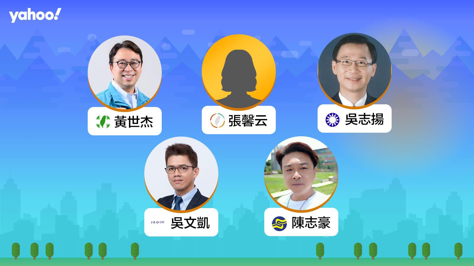 2020立委選舉桃園市第二選區(楊梅,大園,新屋,觀音),你支持誰?