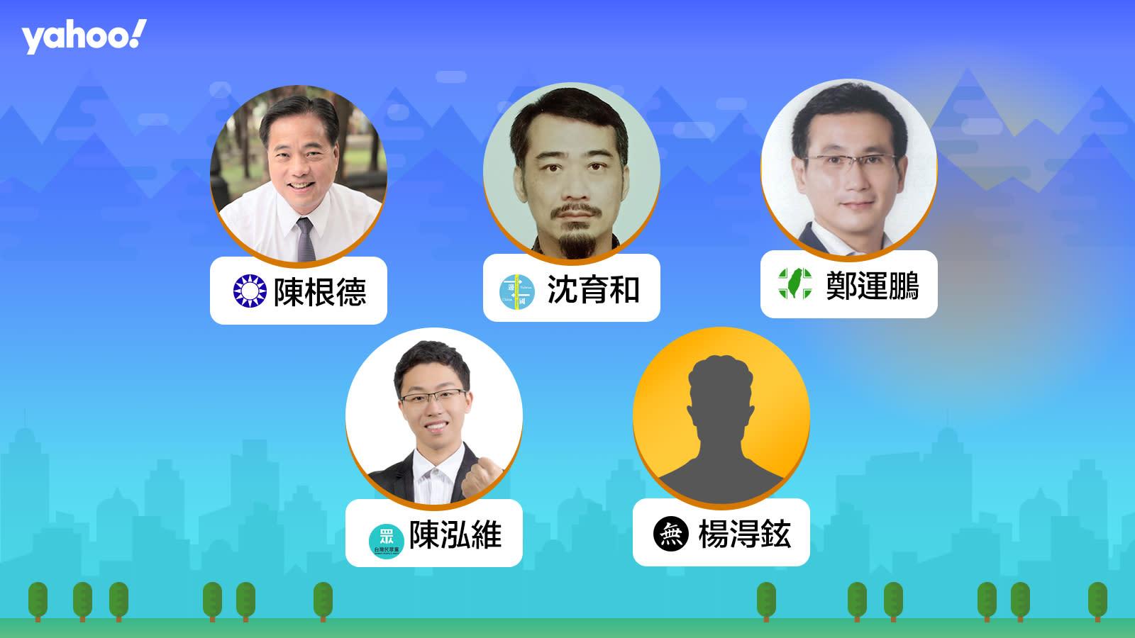 2020立委選舉桃園市第一選區(桃園,蘆竹,龜山),你支持誰?