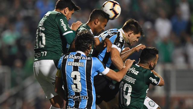 Kannemann Geromel Palmeiras Grêmio Libertadores 27082019