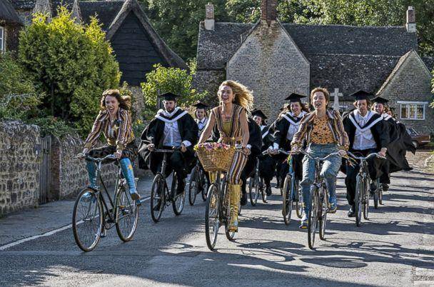 PHOTO: Alexa Davies, Lily James and Jessica Keenan in a scene from 'Mama Mia! Here We Go Again.' (Universal Pictures)