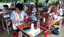 太魯閣感恩祭 文化傳承 小男孩也學織布
