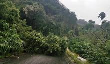 大雨影響 花蓮對外交通受阻