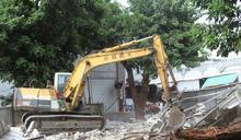 台東展現公權力拆除違章建築 提升救災能力及增設停車場