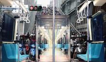 交通宣導首度前進北捷車廂 深入民眾日常生活