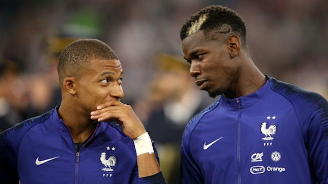 Pogba relishing partnerships with Mbappe and Rashford