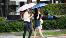 今日天氣/白天高溫恐飆36℃ 午後留意雷陣雨