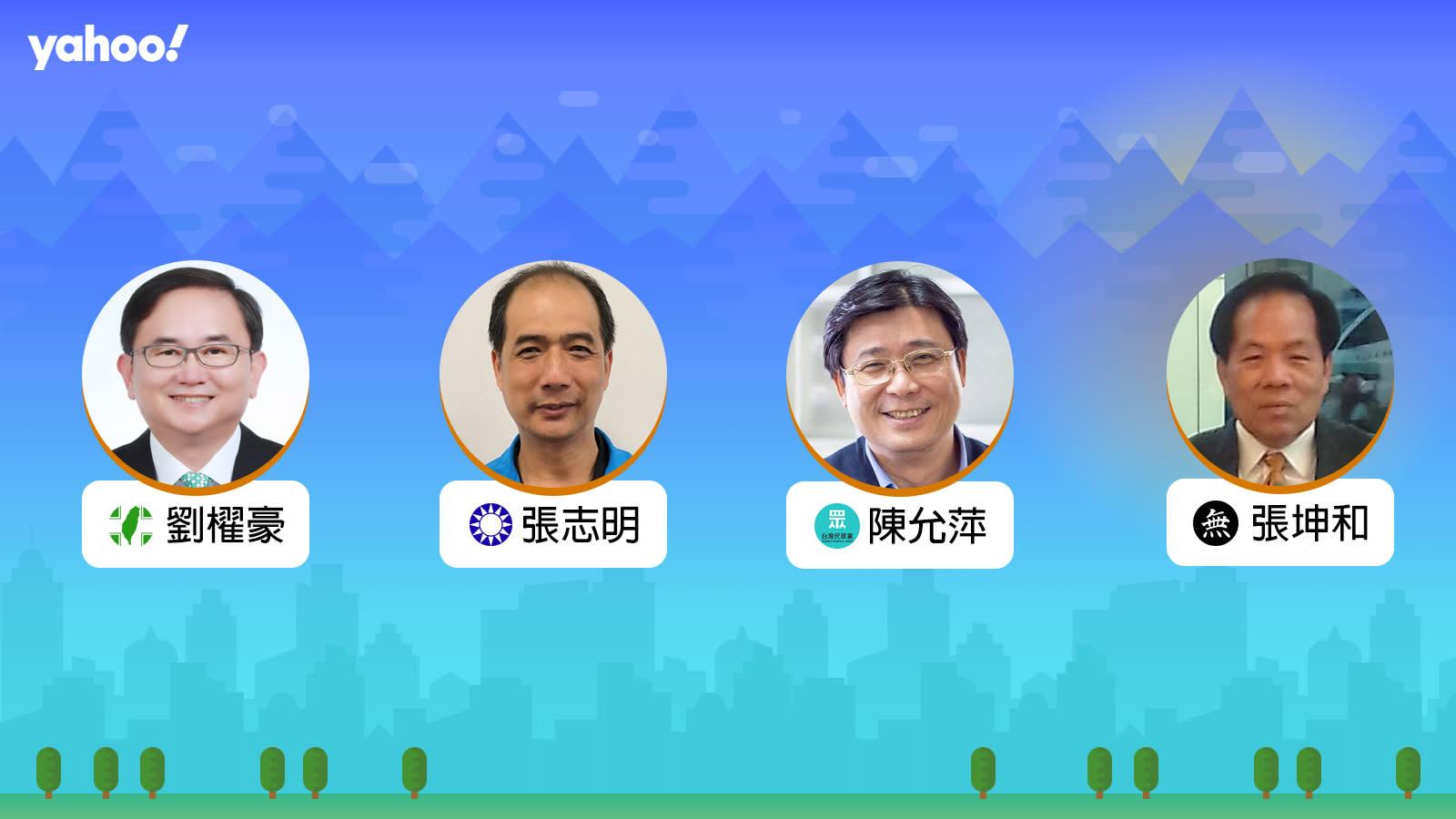 2020立委選舉台東縣選區,你支持誰?