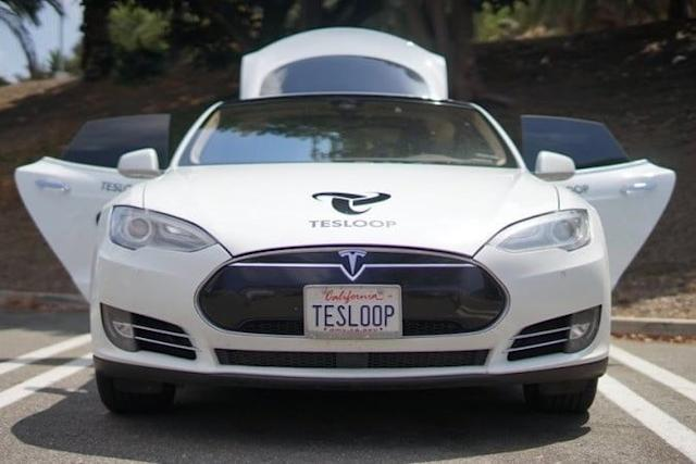 tesla model s tesloop 400 mil millas head