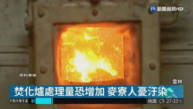 六輕焚化爐將代燒垃圾 麥寮人不滿