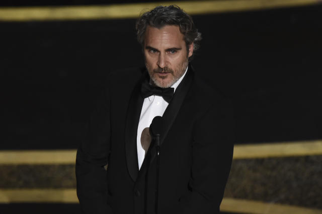"Joaquin Phoenix gana el Oscar por ""Joker"""
