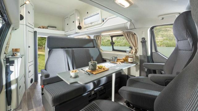2019 Ford Transit Custom Nugget Interior