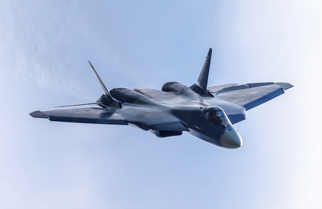 Russia says its Su-57 stealth fighter will be armed with deadly hypersonic missiles that can defeat all US defences 5c813a2db7dd24f052f9bf22a17f604e