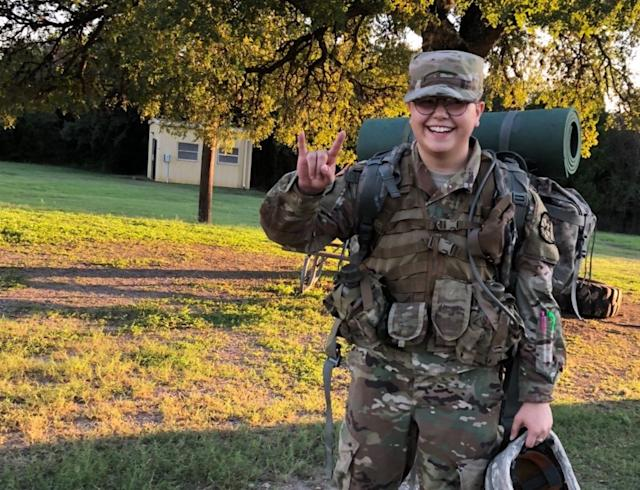 Map Pesqueira is losing his ROTC scholarship because of the military's new ban on trans service members. (Photo: GoFundMe)