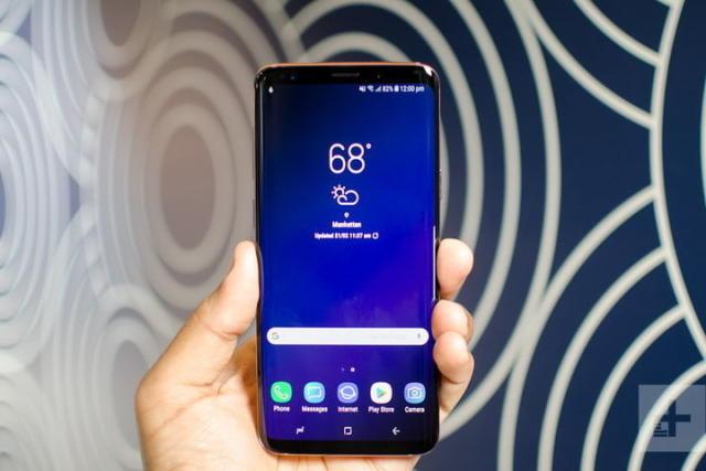 三星Galaxy S9和iphone x苹果手正面全720x720