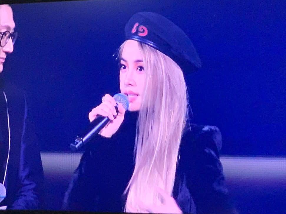 金曲獎/蔡依林看完她表演超激動 廣告時間拿mic喊:我好想上台啊!