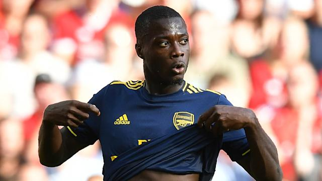 Nicholas Pepe Arsenal 2019-20