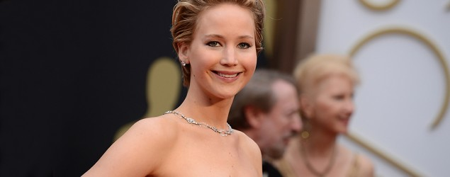 oops she did it again lawrence falls at oscars jennifer lawrence is a