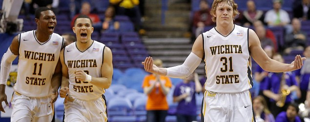 Wichita State enters the NCAA tournament with a perfect 34-0 record. (Getty Images)