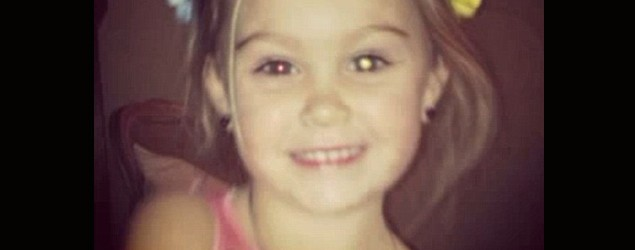 Tara Taylor's photo of daughter Rylee on Facebook may have helped save her vision. (Trending Now)