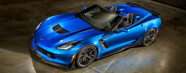 New 2015 Corvette convertible unveiled. (Yahoo Autos)