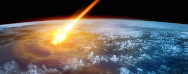 "Research shows Earth's ""blind luck"" with asteroids. (BGR)"