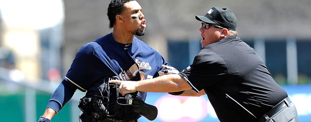 MLB star Carlos Gomez is unapologetic for his role in sparking a benches-clearing brawl. (Getty Images)