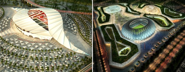 Qatar World Cup stadiums (Getty Images)
