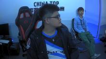 中國《爐石戰記》國家杯大賽,閃電狼大哥 Tom 一局之差落入敗者組