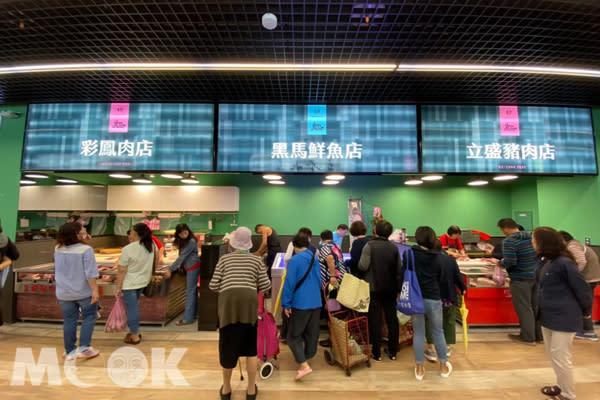 超市感建築新景點!傳統市場變身文青風
