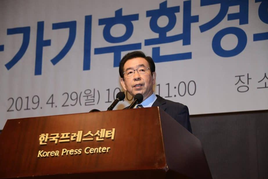 首爾市長手機關機失蹤 女兒報警急尋