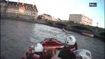 Lifeboat Rescues Teen Who Jumped in Thames