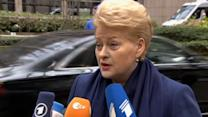 Russia effectively at war with EU -Lithuanian president