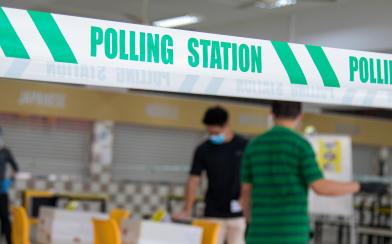 選舉結果差 凌晨4點開記者會