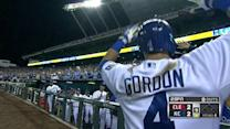 Gordon's game-tying homer