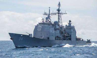 中國頻挖角 美軍艦8度航經台海
