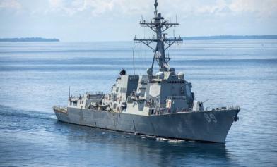 國防部證實 2美艦穿越台海了