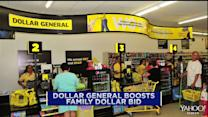 Dollar General boosts bid for Family Dollar