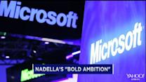 Nadella looks to shake things up at Microsoft