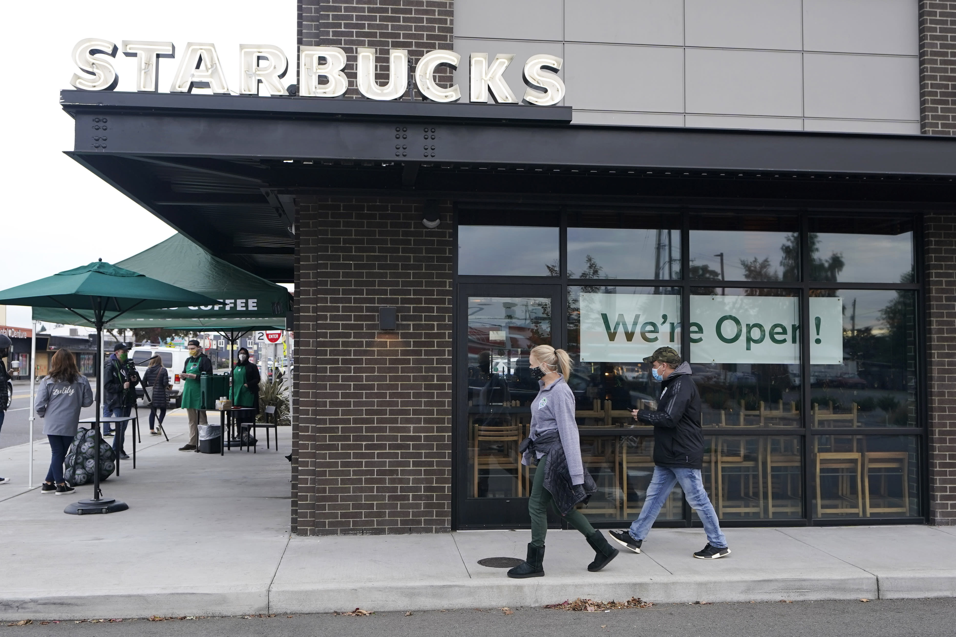 Starbucks sales recover faster than expected in US, China