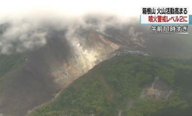赴日注意!火山動了 2級警戒