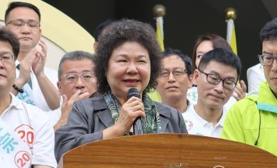 陳菊:社會沒討厭民進黨