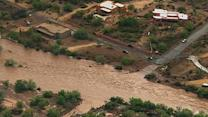 Severe storms lead to dramatic rescues in Arizona