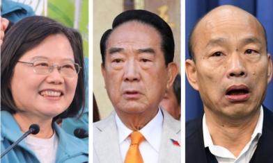 大選政治獻金 小英5.6億奪冠