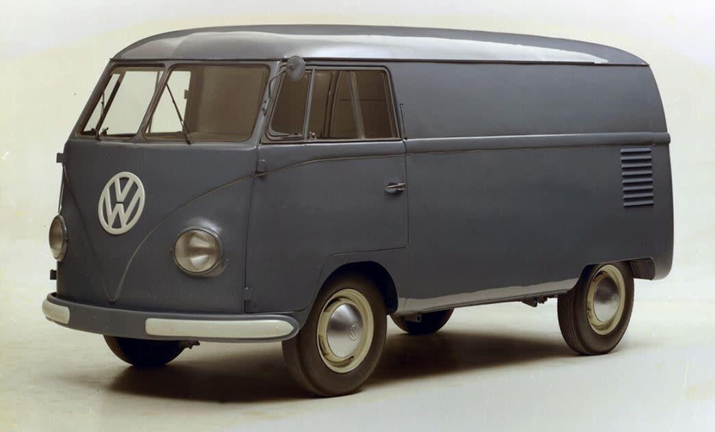 Volkswagen Transporter慶祝七十週年之各代回顧